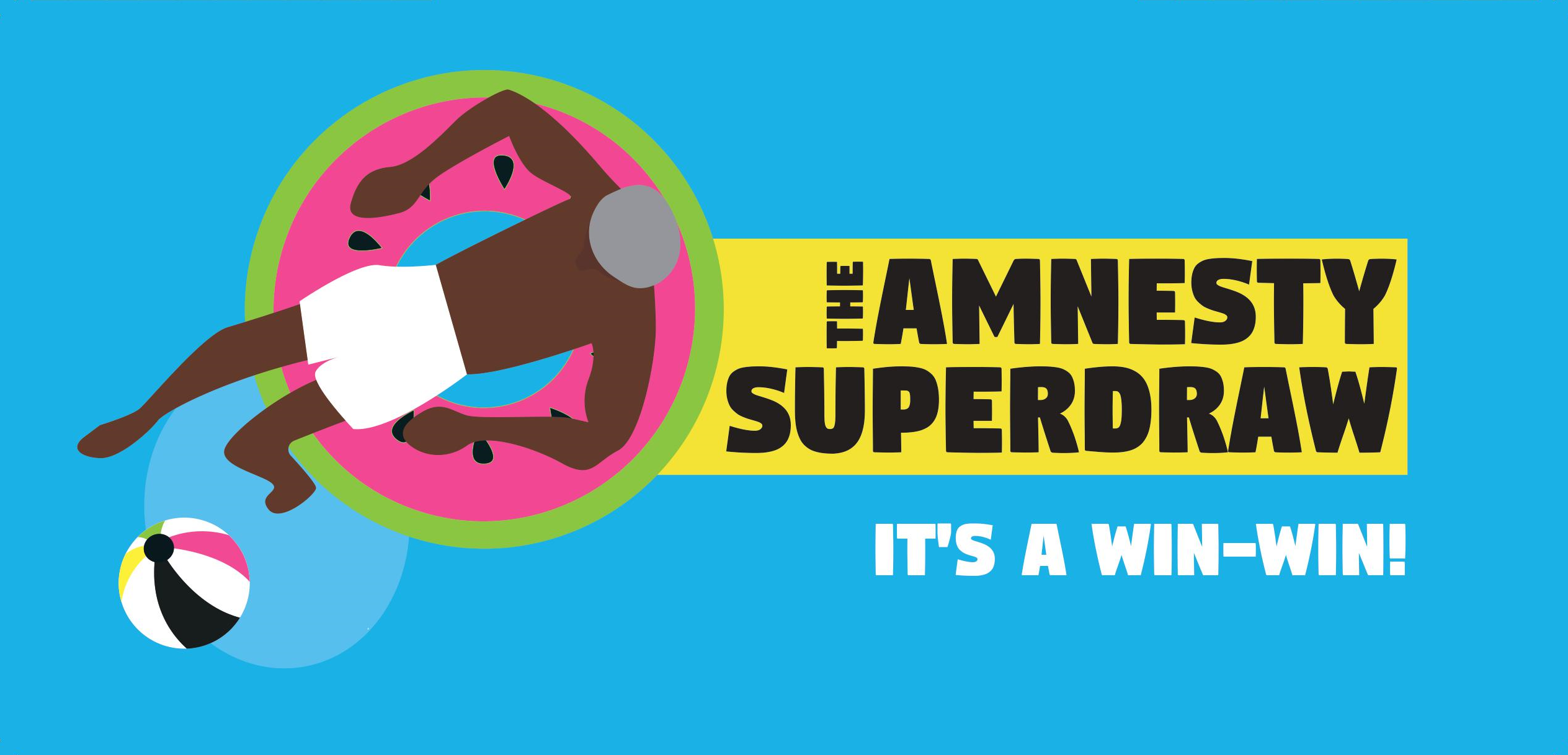 Play the Amnesty Superdraw. It's a win-win!